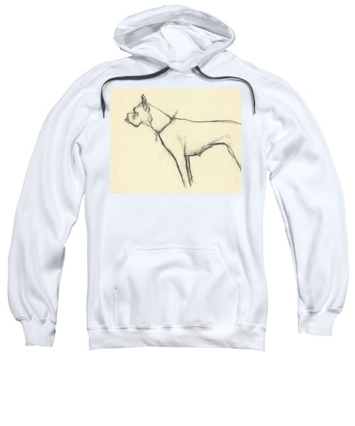 A Boxer Dog Sweatshirt
