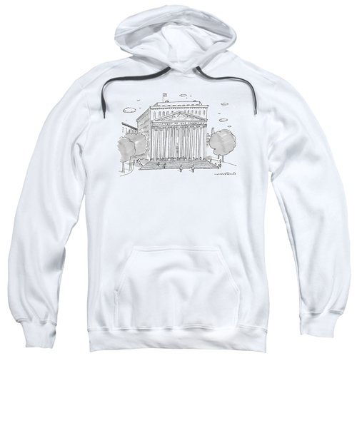 A Building In Washington Dc Is Shown Sweatshirt