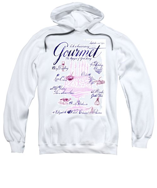 A Calligraphy Illustration Celebrating Sixty Sweatshirt