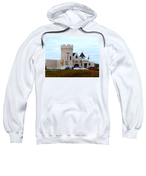 A Cheese Castle Sweatshirt by Kay Novy