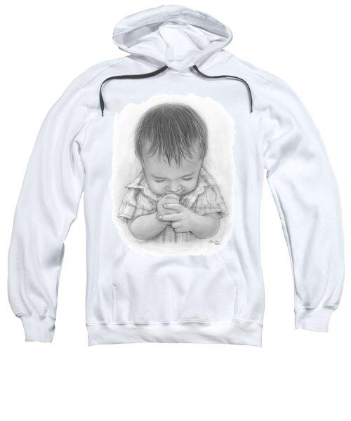 A Child's Payer Sweatshirt