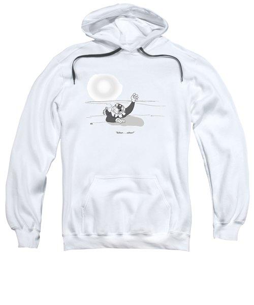A Clown Crawls Through The Desert Sweatshirt