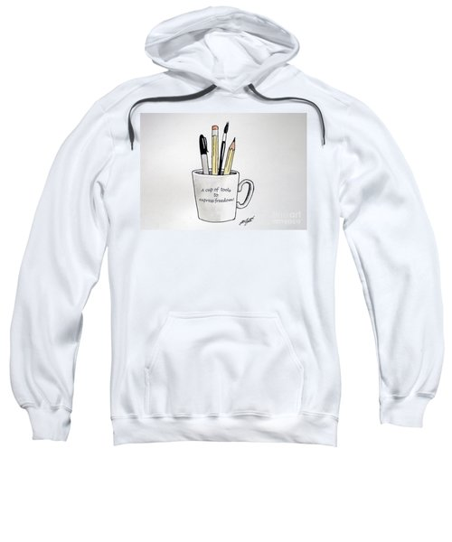 A Cup Of Tools To Express Freedom Sweatshirt