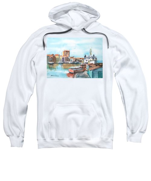 A Curacao Morning Sweatshirt