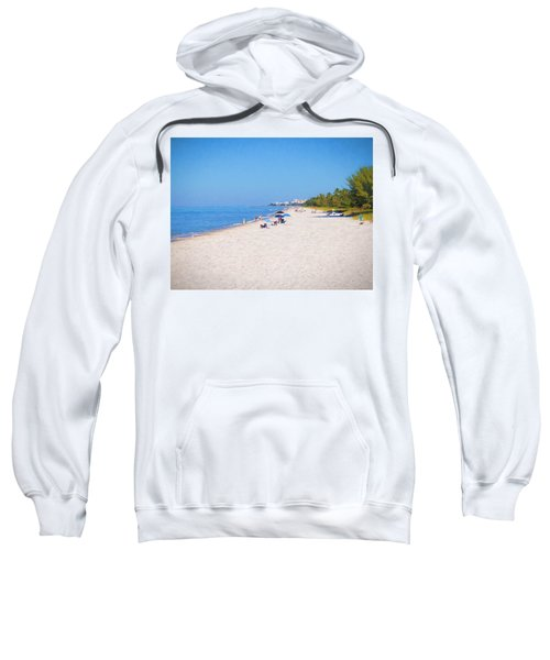A Day At Naples Beach Sweatshirt