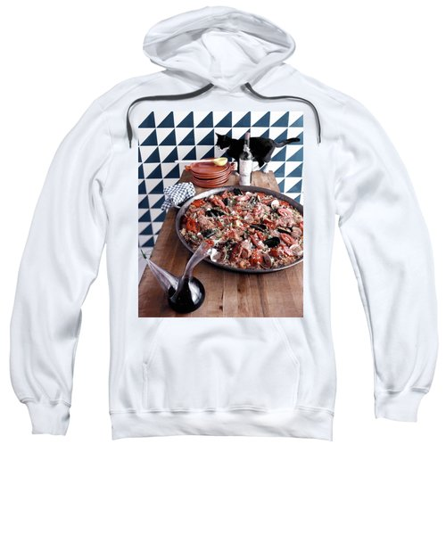 A Dish Of Paella Sweatshirt