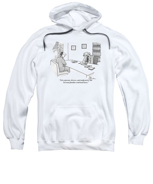 A Dog Dressed In A Suit Sits Behind A Desk Sweatshirt