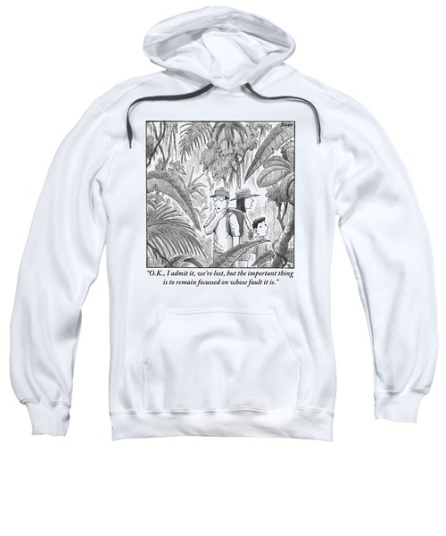 A Family Is Lost In The Depths Of A Jungle Sweatshirt