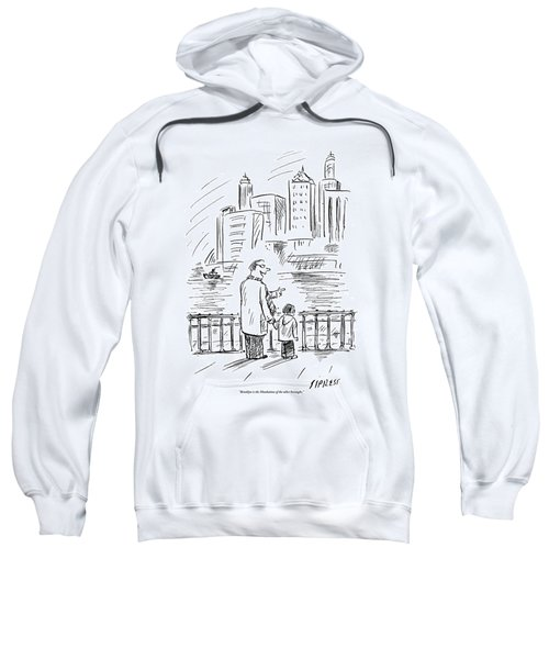 A Father And Son In Brooklyn Look Sweatshirt
