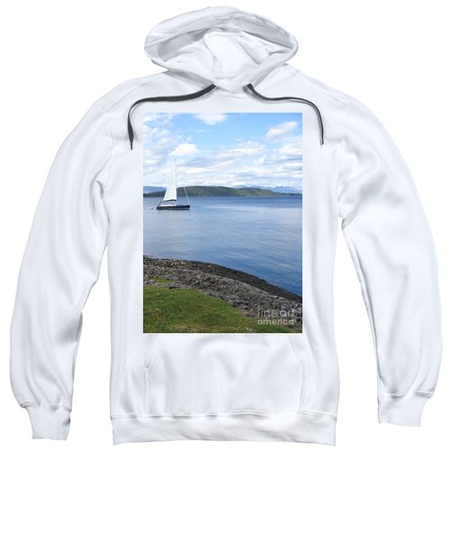 A Fine Day For A Sail Sweatshirt