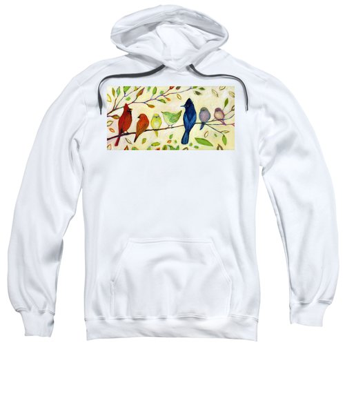 A Flock Of Many Colors Sweatshirt