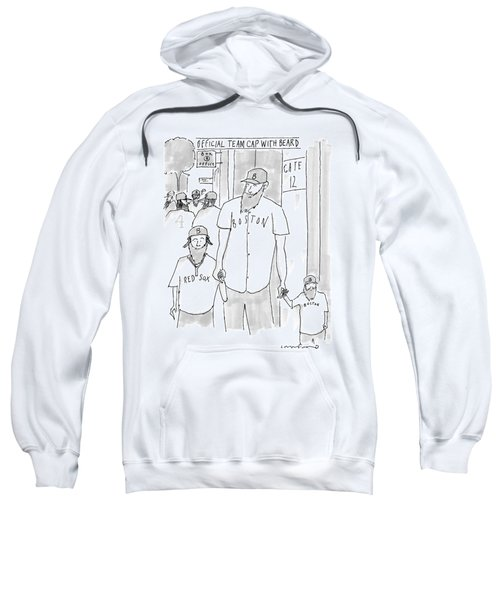 A Man And His Two Sons Sweatshirt