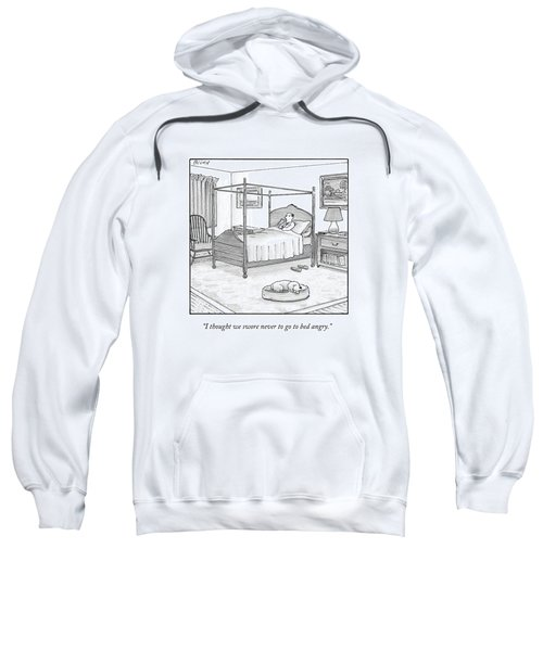 A Man Lies In Bed Sweatshirt