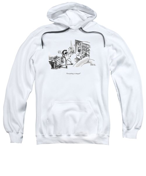 Everything Is Charged Sweatshirt