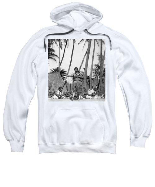 A Native Hawaiian Dancer Sweatshirt