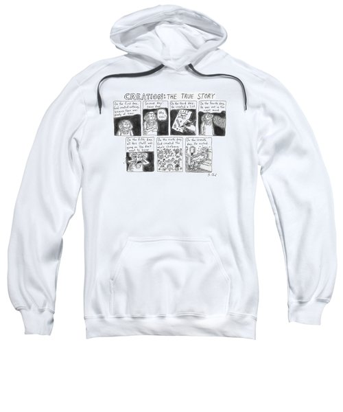 A Panel Called Creation: The True Story Which Sweatshirt