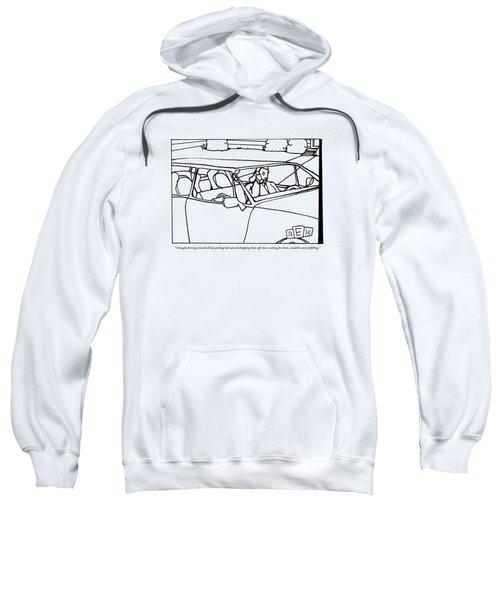 A Parent Driving A Car Sweatshirt