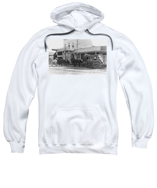 A Stagecoach In Tombstone Sweatshirt