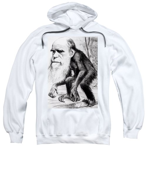 A Venerable Orang Outang Sweatshirt by English School