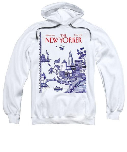 A View Of New York City Sweatshirt