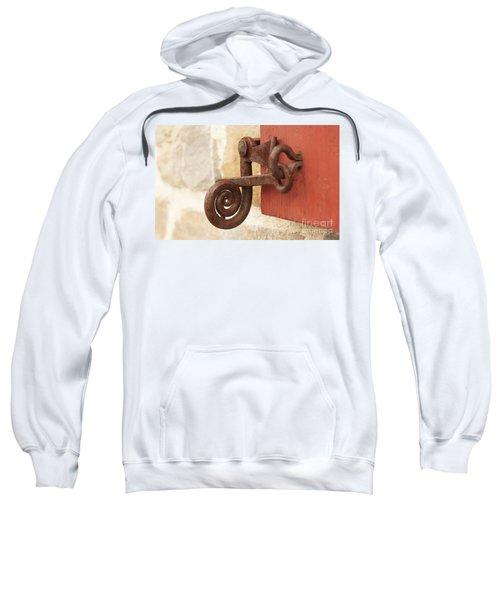 A Window Latch Sweatshirt