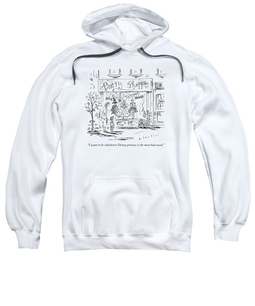 A Young Girl Tells Her Mother Sweatshirt