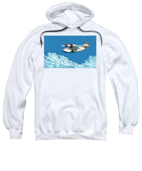 Above It All  The Grumman Goose Sweatshirt