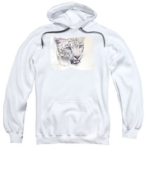 Above The Clouds - Snow Leopard Sweatshirt