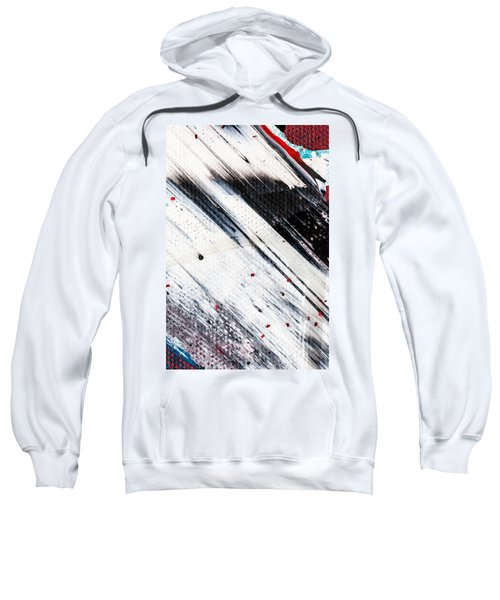 Abstract Original Artwork One Hundred Phoenixes Untitled Number Eight Sweatshirt