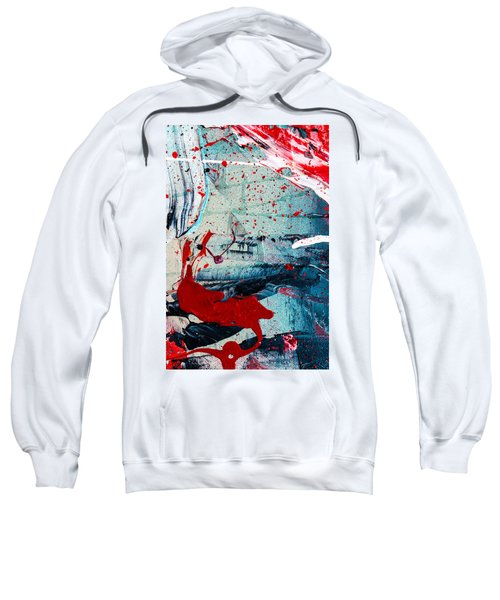 Abstract Original Artwork One Hundred Phoenixes Untitled Number Six Sweatshirt