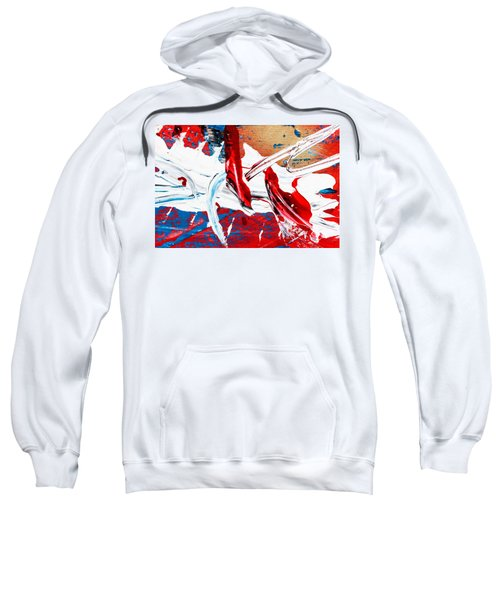 Abstract Original Artwork One Hundred Phoenixes Untitled Number Two Sweatshirt