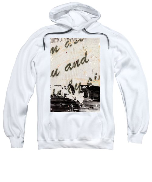 Abstract Original Painting Number Six Sweatshirt