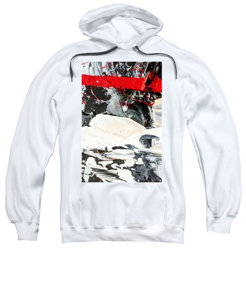 Abstract Original Painting Number Three Sweatshirt