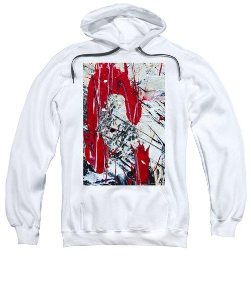 Abstract Original Painting Untitled Nine Sweatshirt