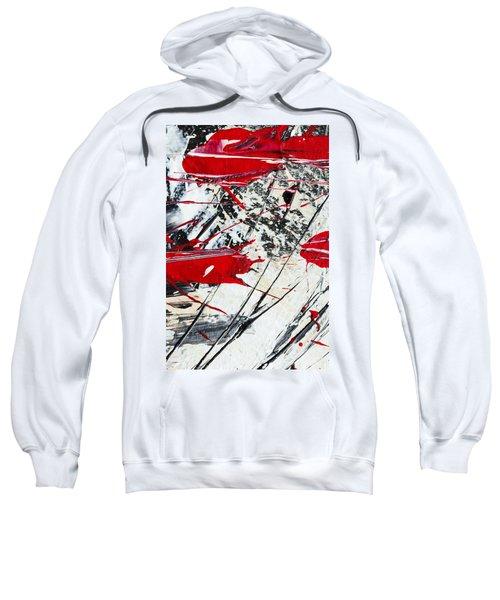 Abstract Original Painting Untitled Ten Sweatshirt