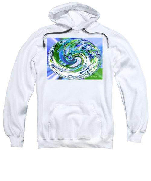 Abstract Reflections Digital Art #3 Sweatshirt