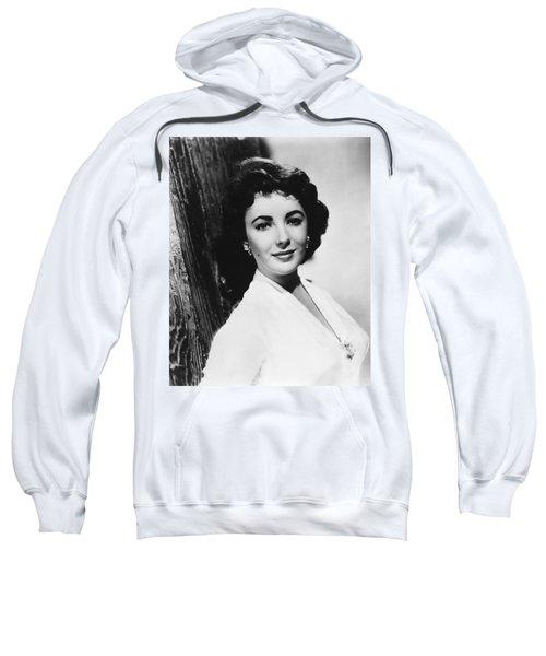 Actress Elizabeth Taylor Sweatshirt