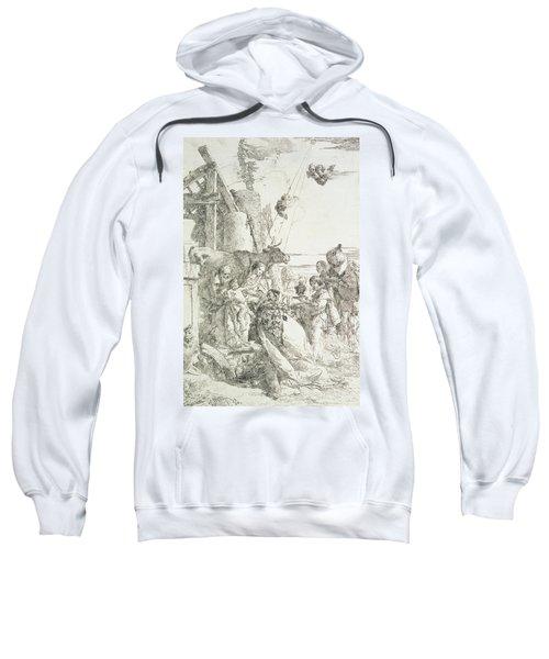 Adoration Of The Magi Sweatshirt