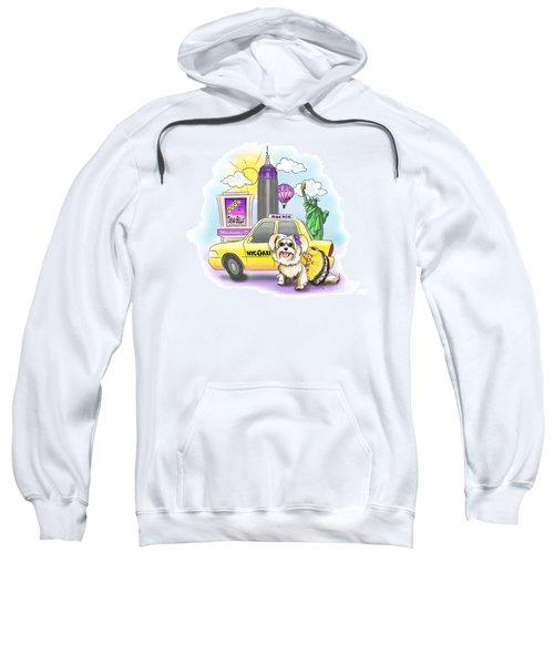 Adventures With The Manhattan Morkie Sweatshirt