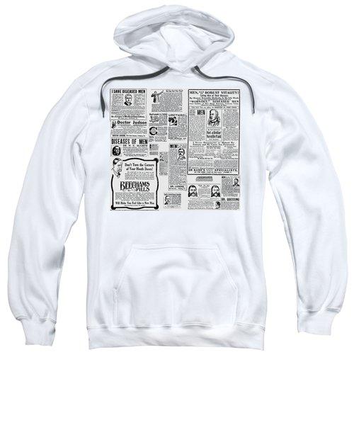 Advert - Edwardian Mens Health Sweatshirt