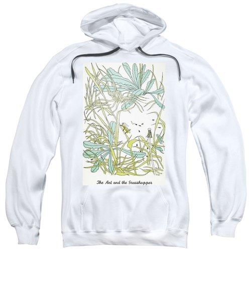 Aesop: Ant & Grasshopper Sweatshirt