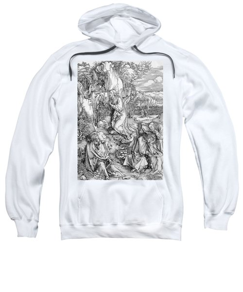 Agony In The Garden From The 'great Passion' Series Sweatshirt