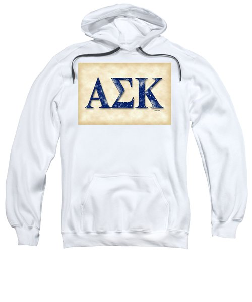 Alpha Sigma Kappa - Parchment Sweatshirt by Stephen Younts