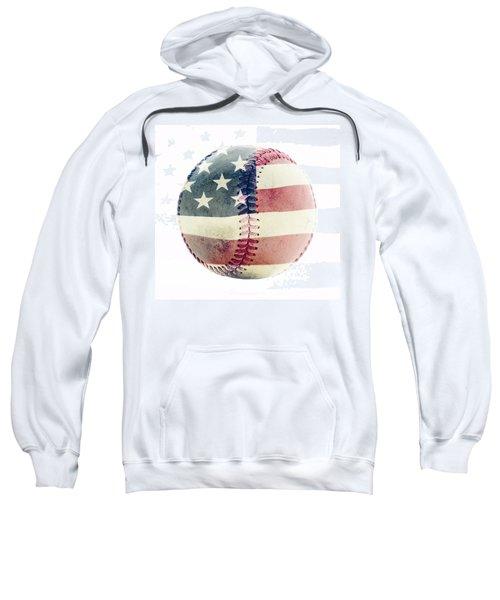 American Baseball Sweatshirt by Terry DeLuco