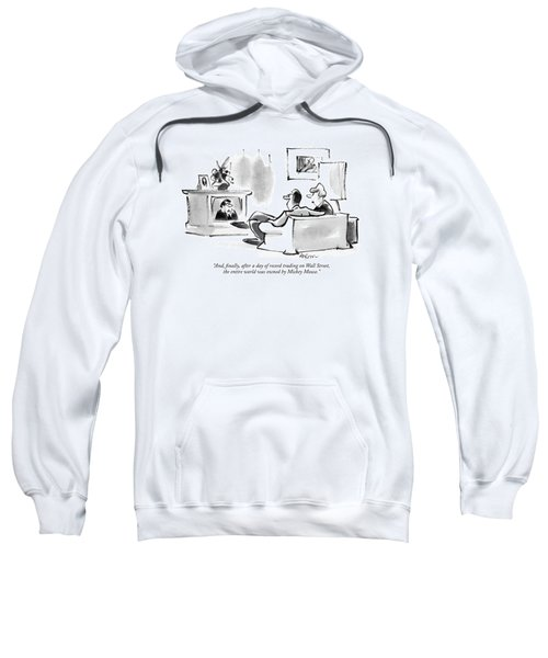 And, Finally, After A Day Of Record Trading Sweatshirt