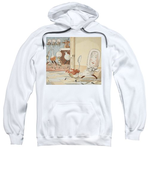 And The Dish Ran Away With The Spoon Sweatshirt
