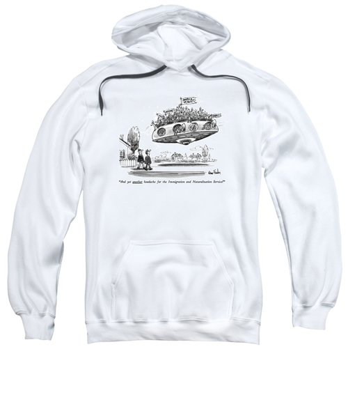And Yet Another Headache For The Immigration Sweatshirt