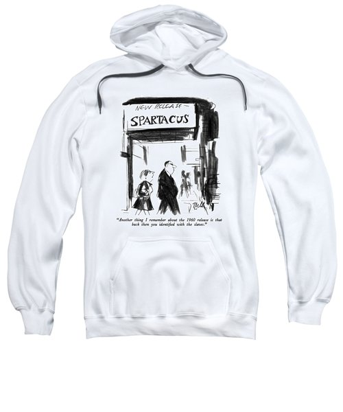Another Thing I Remember About The 1960 Release Sweatshirt