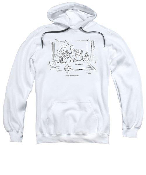 Aphids On The Heliotrope! Sweatshirt