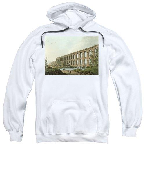 Aqueduct Near Belgrade, Serbia, Plate 6 Sweatshirt
